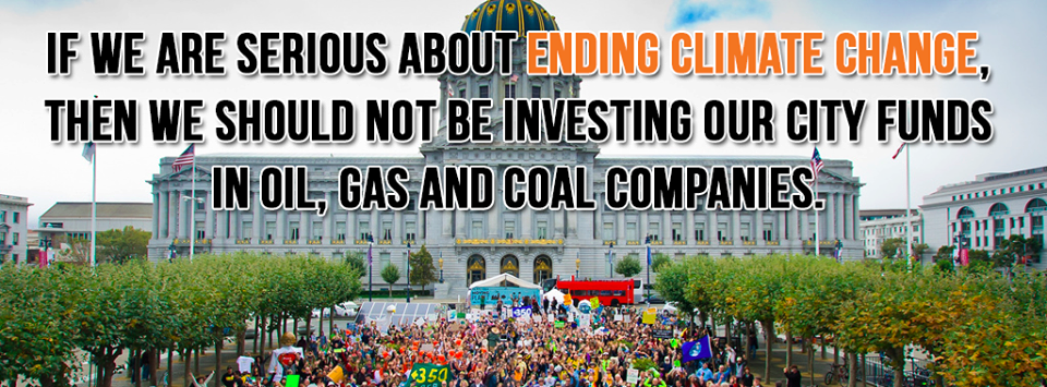 Divest SF Retirement Funds from Fossil Fuels