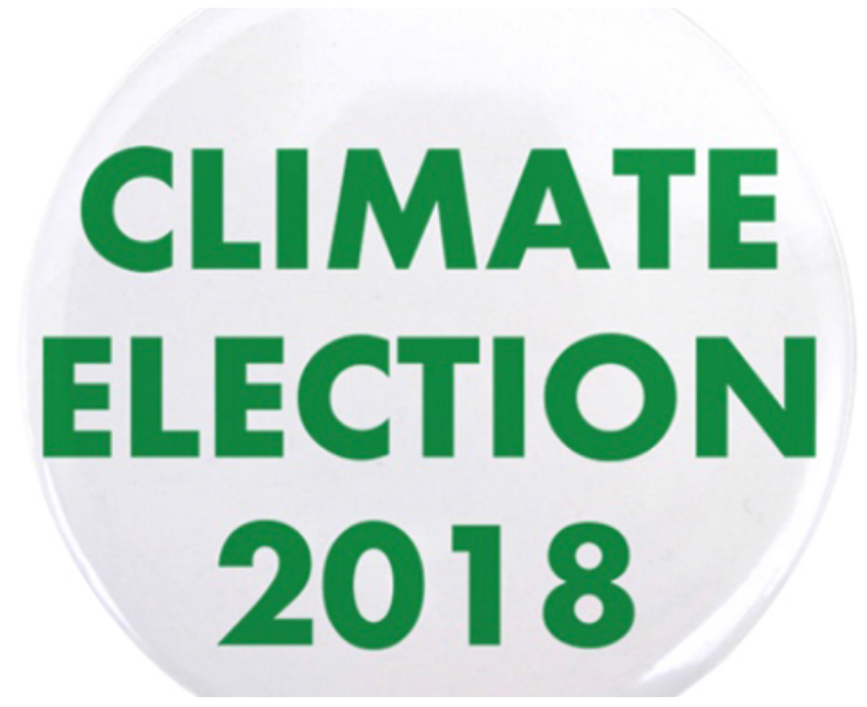 350BA Endorses 2018 ClimateElection Effort