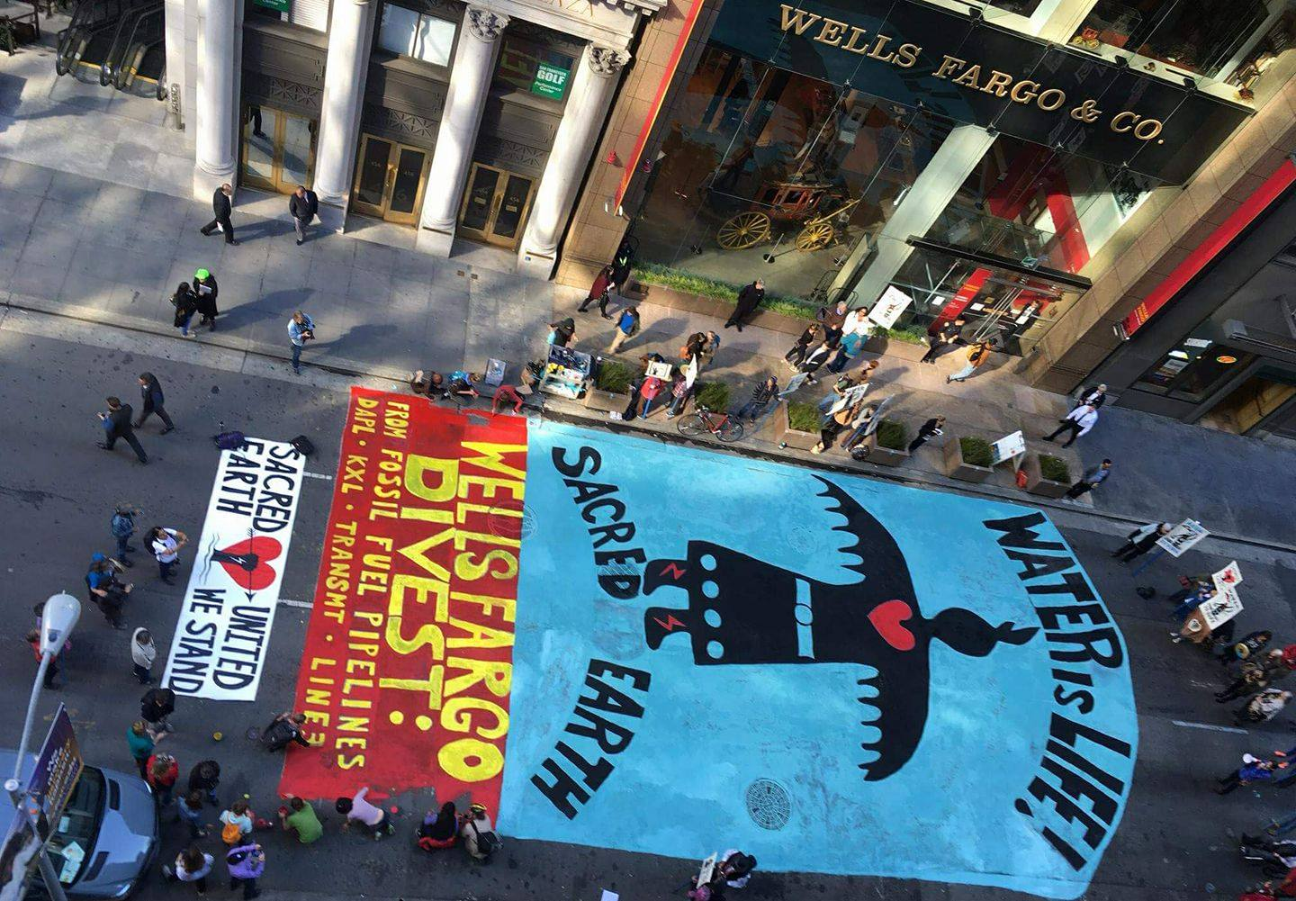 Protect the Sacred: Divest Wells Fargo - 350 Bay Area